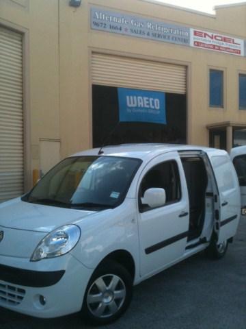 0d5edf03f5 Renault Kangoo 850 Van install